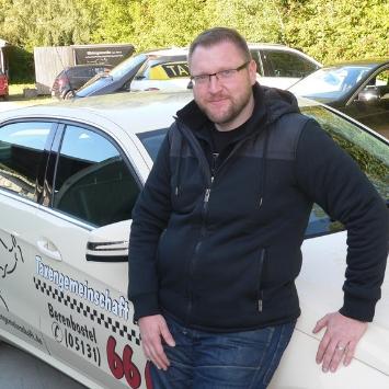Lars Bittner ist der Inhaber der Taxengemeinschaft